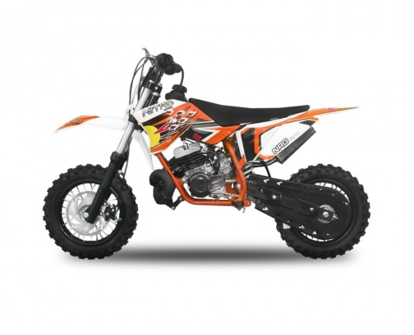 "Dirtbike 49 ccm Nitro NRG 50 10""/10"" New Design  – Bild 3"