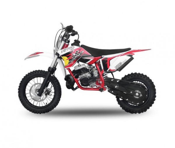 "Dirtbike 49 ccm Nitro NRG 50 12""/10"" New Design 2017 – Bild 2"