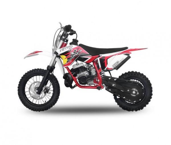 "Dirtbike 49 ccm Nitro NRG 50 12""/10"" New Design 2017 – Bild 2"