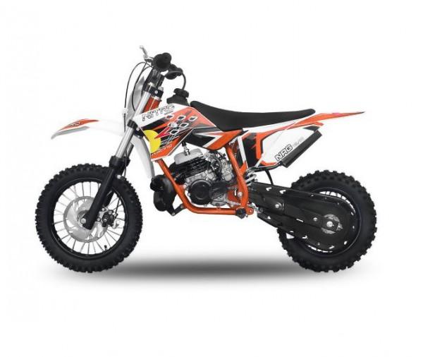 "Dirtbike 49 ccm Nitro NRG 50 12""/10"" New Design 2017 – Bild 4"