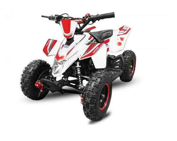 "Madox 6"" 49 ccm Nitro Miniquad Atv Kinderquad Cross Pocketquad – Bild 6"