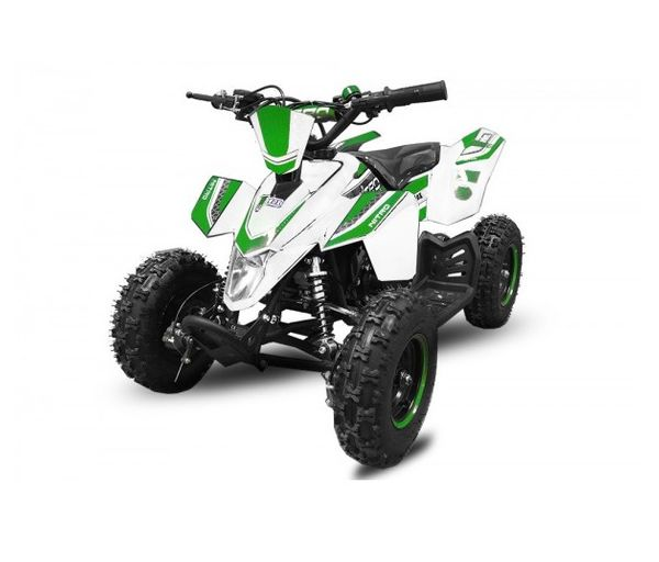 "Madox 6"" 49 ccm Nitro Miniquad E-Start Atv Kinderquad Cross Pocketquad – Bild 6"