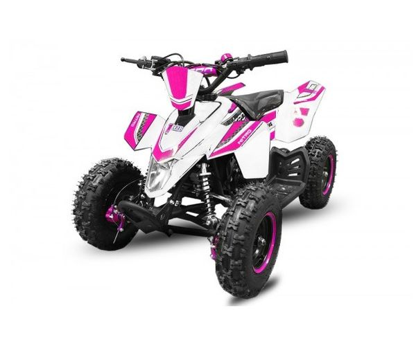 "Madox 6"" 49 ccm Nitro Miniquad E-Start Atv Kinderquad Cross Pocketquad – Bild 7"