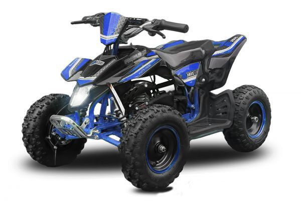 "Madox Premium 4"" 49 ccm Nitro Miniquad Atv Kinderquad Cross Pocketquad"