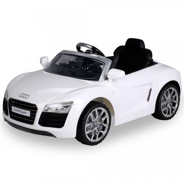 Kinder Elektroauto Audi R8 Spyder Lizenziert 2 x 35 Watt Motor ,12V7AH – Bild 2
