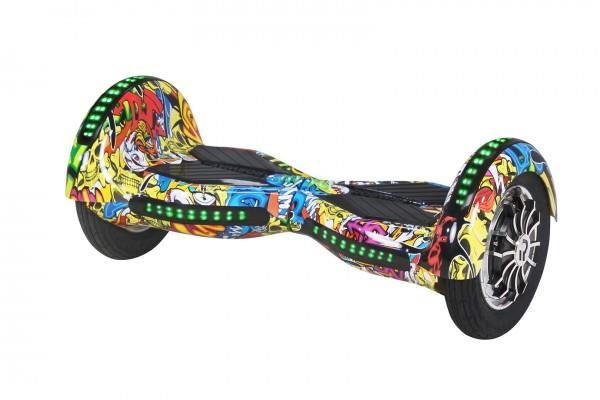 E-Balance Board ROBWAY - W3 - Bluetooth - LED - Tasche Hoverboard E-Balance – Bild 12