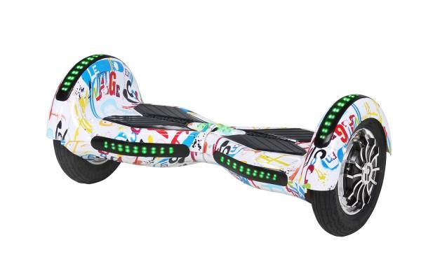 E-Balance Board ROBWAY - W3 - Bluetooth - LED - Tasche Hoverboard E-Balance – Bild 16