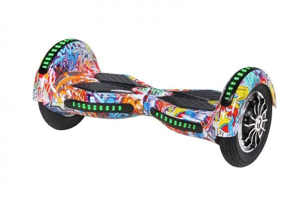 E-Balance Board ROBWAY - W3 - Bluetooth - LED - Tasche Hoverboard E-Balance – Bild 21