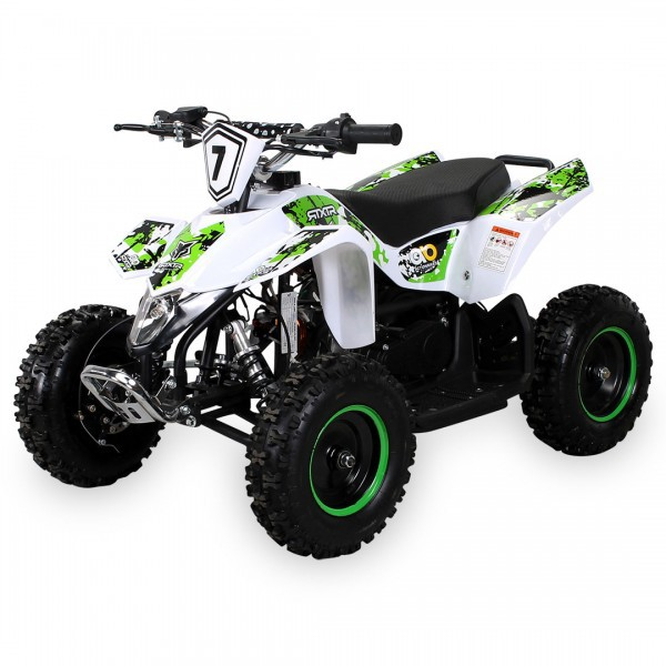 Kinder Miniquad Fox XTR PREMIUM  49 ccm / E-Start, Tuning Engine – Bild 7