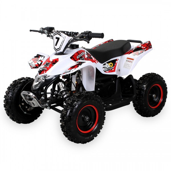 Kinder Miniquad Fox XTR PREMIUM  49 ccm / E-Start, Tuning Engine – Bild 8