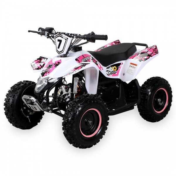 Kinder Miniquad Fox XTR PREMIUM  49 ccm / E-Start, Tuning Engine – Bild 9