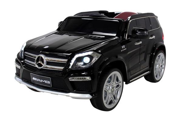 Kinder Elektroauto Mercedes GL63 Lizenziert EVA Tyres - Ledersitz – Bild 1