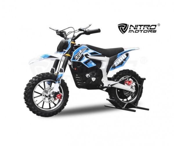 Elektro Pocketbike Gepard Deluxe 500W ECO mit Lithium Batterie – Bild 1