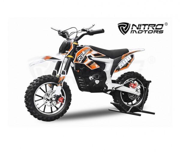 Elektro Pocketbike Gepard Deluxe 500W ECO mit Lithium Batterie – Bild 3