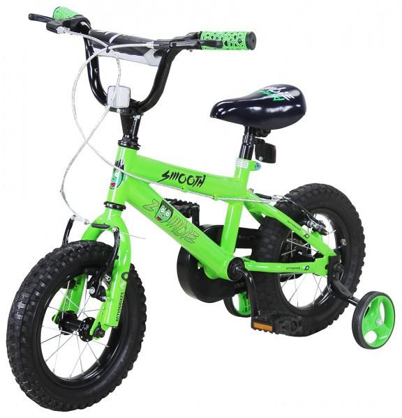Kinder Fahrrad Zombie 12 Zoll Grün