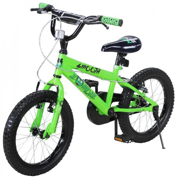 Kinder Fahrrad Zombie 16 Zoll Grün