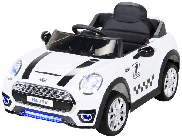 Kinder Elektroauto Mini Cooper HL198 12V7Ah – Bild 3