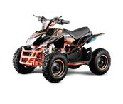 "Jumpy 6"" Premium Bigbore 49ccm E- Start Miniquad Atv Kinderquad"