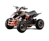 "Jumpy 6"" Premium Bigbore 49ccm E- Start Miniquad Atv Kinderquad  001"