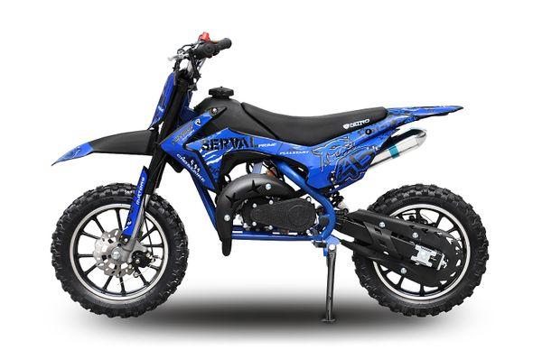 Dirtbike 49ccm Dirtbike Serval Prime Automatic 10/10 – Bild 2