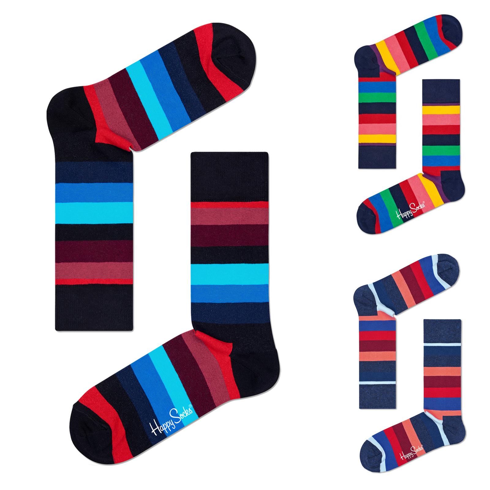 Happy Socks Socken Stripes 36/40 41/46 in bunt gestreift