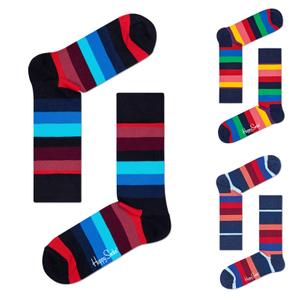 HAPPY SOCKS Socken Strümpfe Stripes - Farbwahl