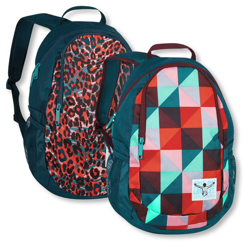 Chiemsee Crystal Rucksack 5021025 in magic triangle red