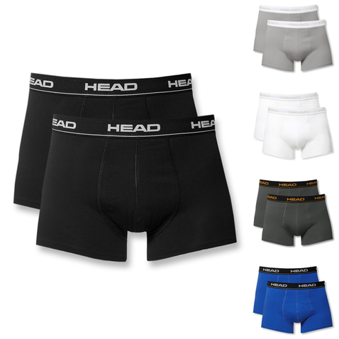 4er 6er 8er Pack HEAD Herren Boxershorts 841001001 S M L XL in blue