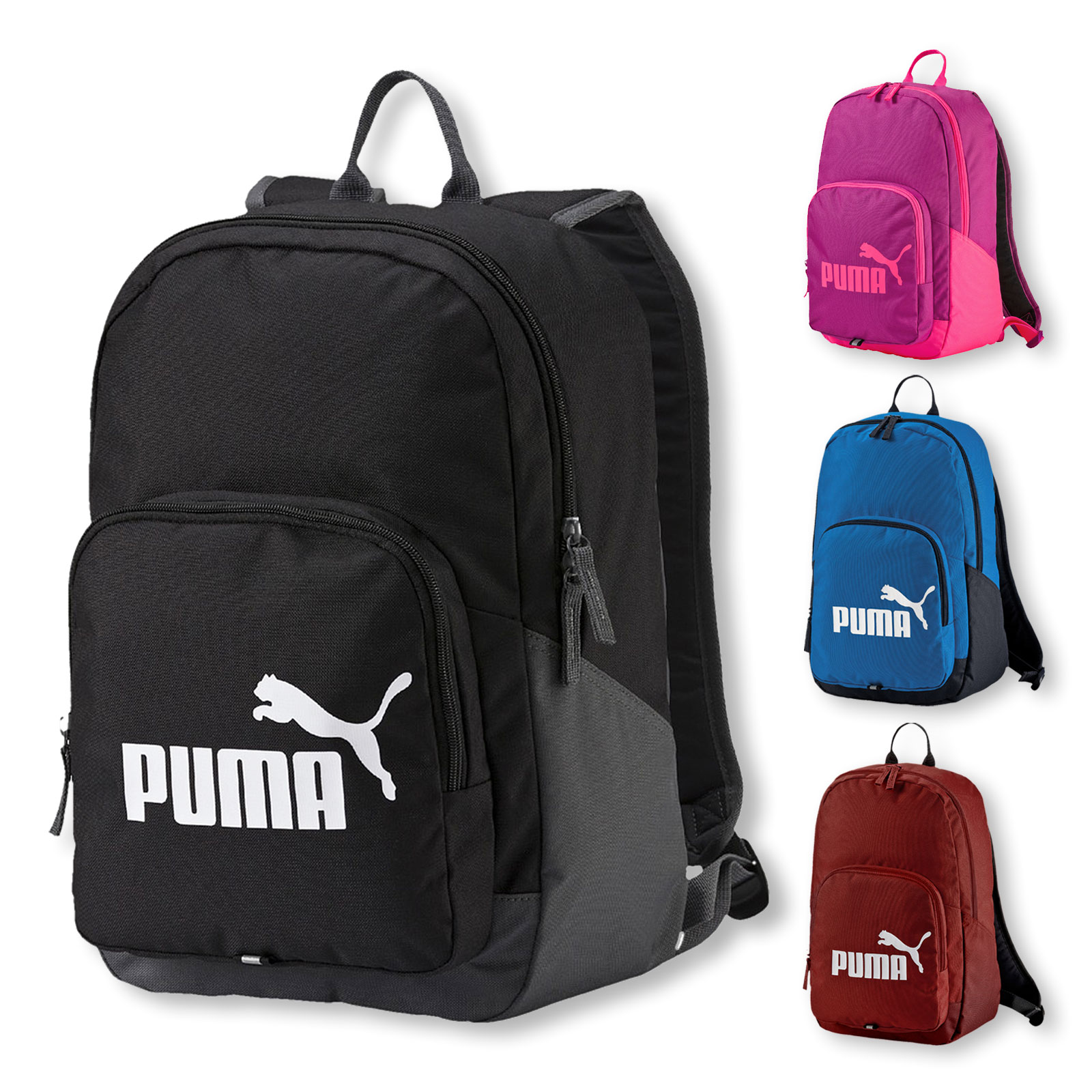 Puma Phase Backpack Rucksack 073589 in red dahlia vergrößern