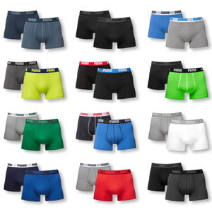 PUMA 2er Pack Shorts Boxer - Farbwahl
