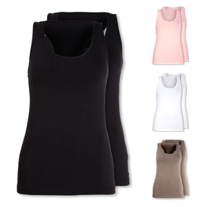 SKINY 2er Pack Tank Tops Love it - Farbwahl