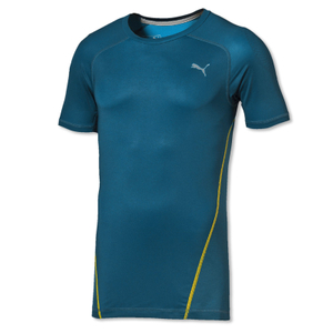PUMA Herren Active Shoulders Funktionsshirt kurzarm