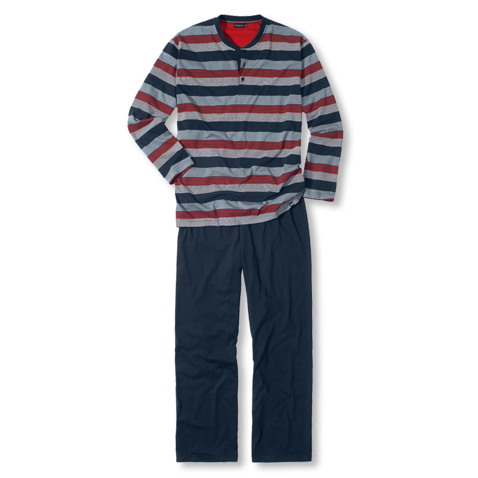 Götzburg Herren Pyjama Craig 451355 S M L XL XXL in chili pepper