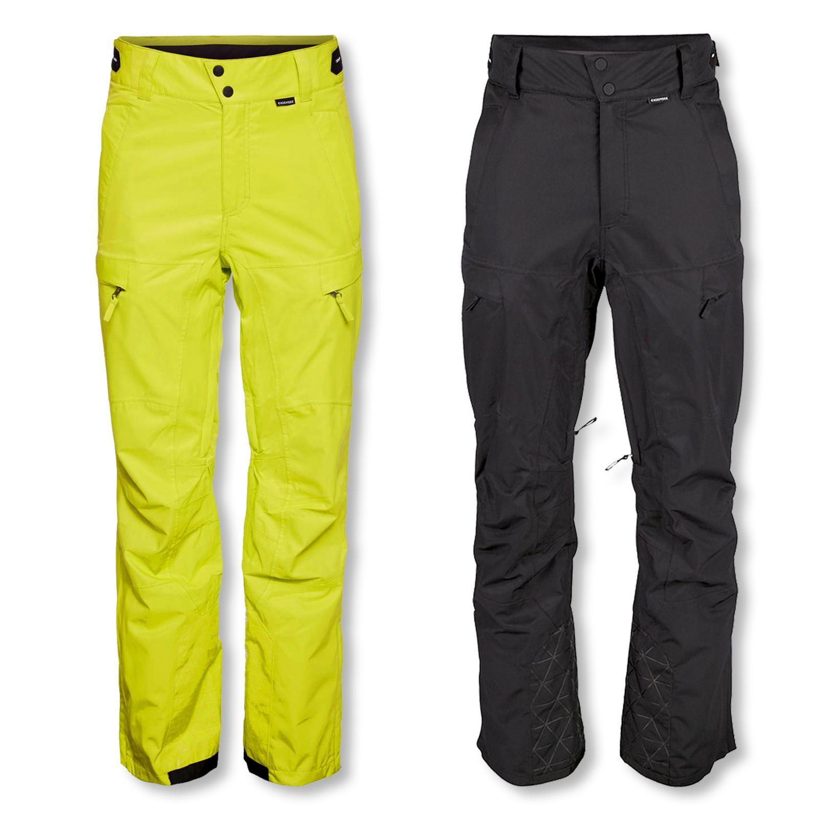 Chiemsee Herren Skihose Snow Pants Kolja 2090804 M L XL in schwarz