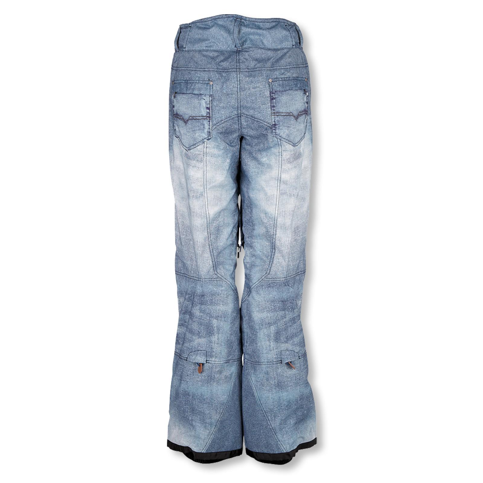 Chiemsee Damen Snowboardhose Snow Pants Hilke 2 S M L 1090804 in starlight blue