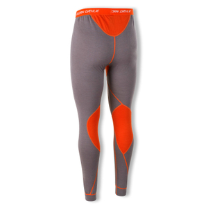 Detailbild Björn Daehlie Herren Unterhose Skiunterhose Baselayer Pants Warm 320943 M L XL in shark/tangerine tango