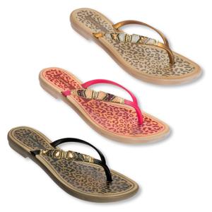 Detailbild Grendha Damen Sandalen Zehentrenner Jewel Thong 81794 37 38 39 40 41/42 in pink