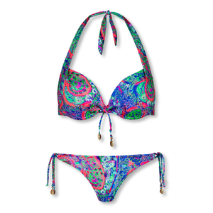CYELL Neckholder Bügel Bikini-Set kashmar royal