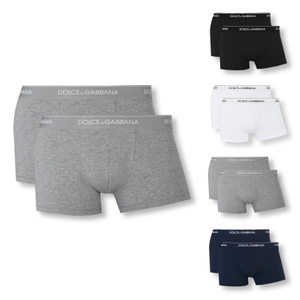 DOLCE & GABBANA 2er Pack Shorts Boxershorts Day by Day - Farbwahl