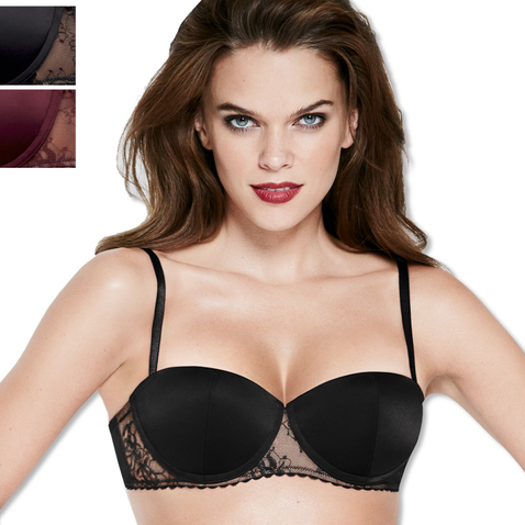 Wonderbra Balconette Exclusive BH 70-85 A-C 8642 in schwarz
