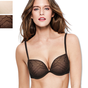 WONDERBRA Full Effect Lace Push-up BH - Farbwahl