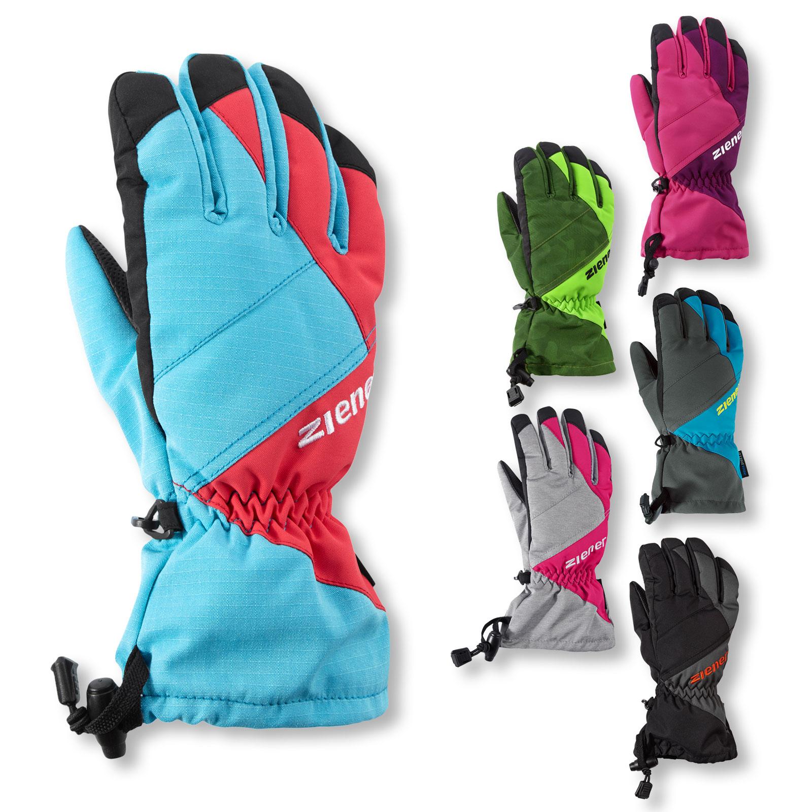 Ziener Skihandschuhe AGIL AS® glove Junior Handschuhe Kinder in pink blossom / plumberry