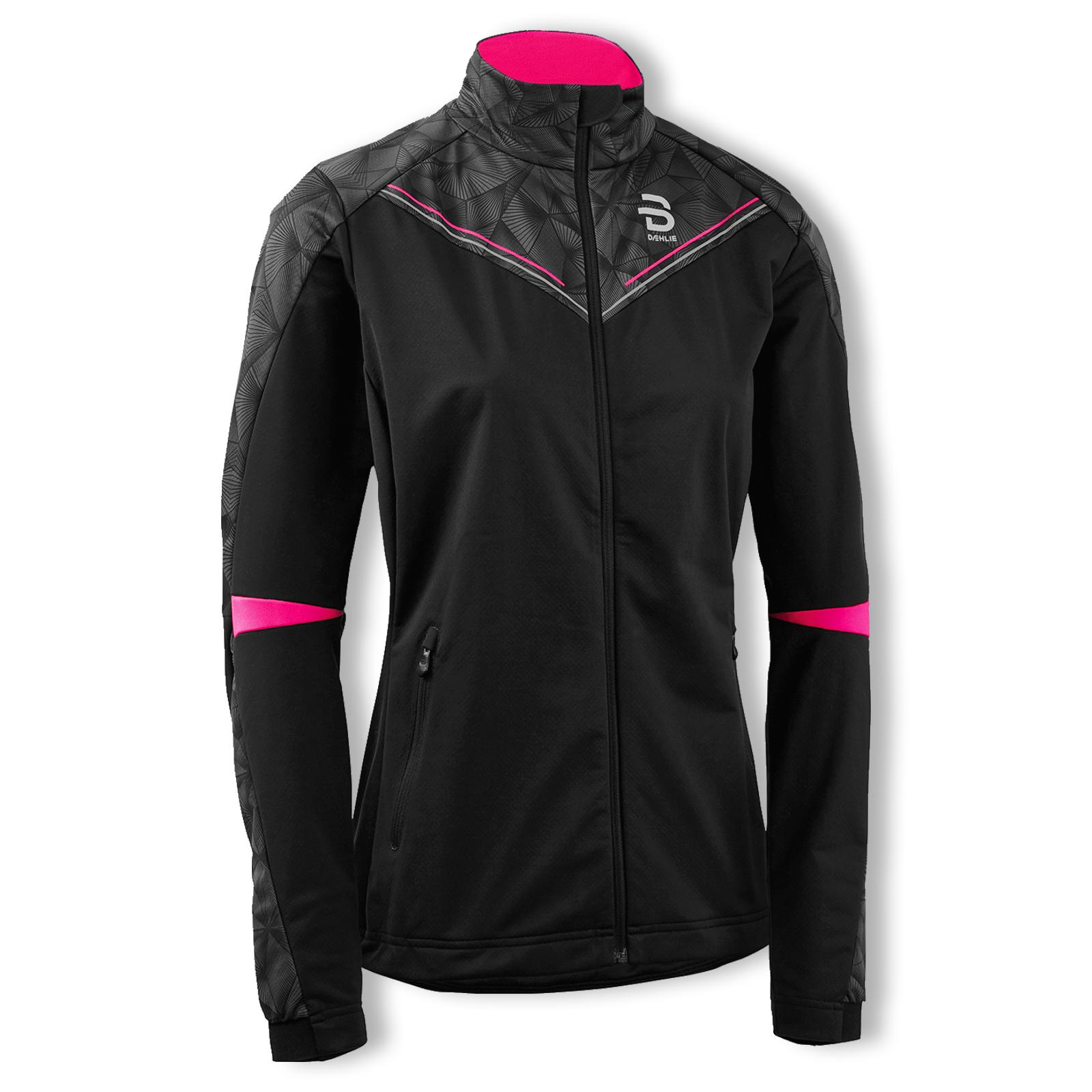 Björn Daehlie Damen Funktionsjacke Softshelljacke Jacket Intent Women S M L 332062 in schwarz
