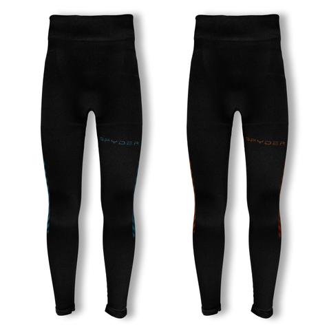 Spyder Herren Skiunterhose Pant Carbon (Boxed) 626718 in black/rage