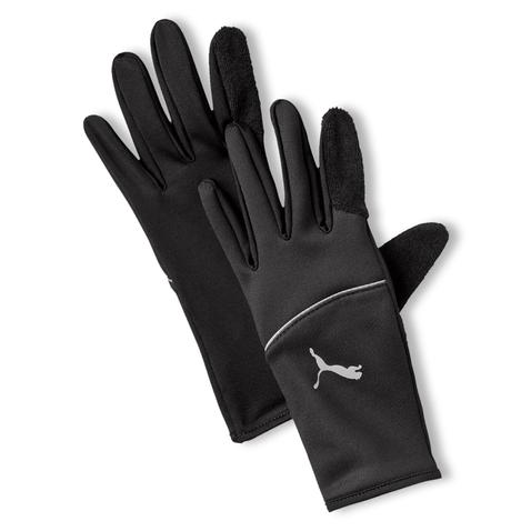 PUMA Running Unisex Thermo Handschuhe Touchscreen Fingerhandschuhe S M L 041268 in schwarz