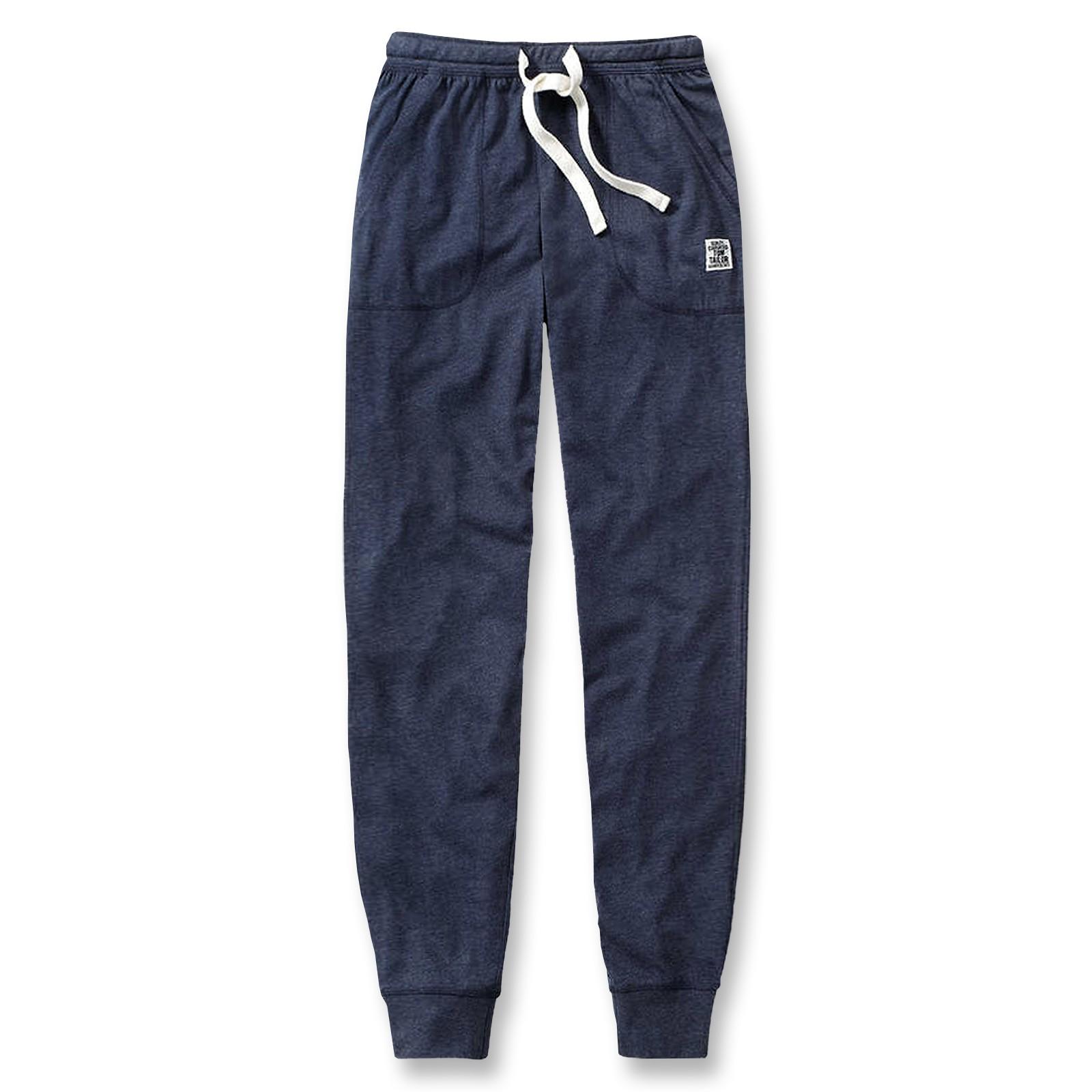 Tom Tailor Herren Pyjamahose lang Homewear Schlafanzug Hose 70854 in blue melange