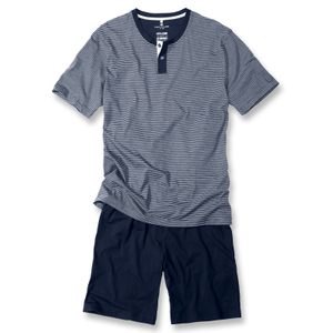 Tom Tailor Herren Shorty Pyjama Set Schlafanzug kurz M L XL XXL 001