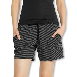 Detailbild Marc O'Polo Damen Pyjamahose Shorty Schlafanzughose kurz 154551 S M L XL in black