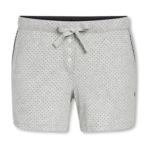 Marc O'Polo Damen Pyjamahose Schlafanzughose kurz Shorts 154553 S M L XL in grey melange