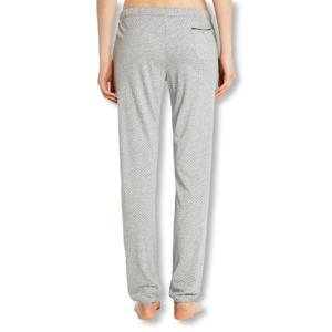Detailbild Marc O'Polo Damen Pyjamahose Schlafanzughose Pants lang 154554 S M L XL in grey melange